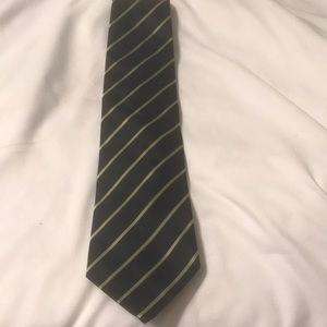 Banana republic tie stripe